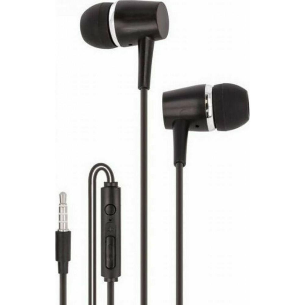 Maxlife wired earphones MXEP-02 black Τηλεφωνία