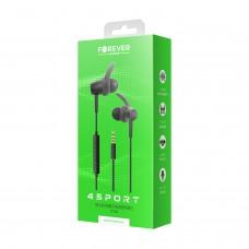 Wired earphones Forever 4Sport SP-100 black