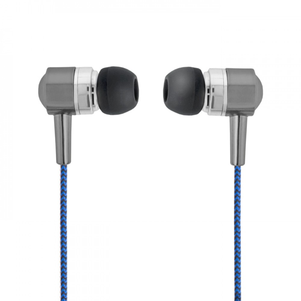 Forever Wired earphones SE-120 blue-black Τηλεφωνία