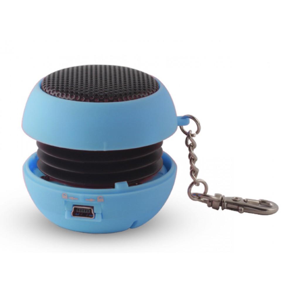 SETTY Speaker Pocket, 2.5Watt, 3.5mm jack, 180mAh, Blue Computers & Office