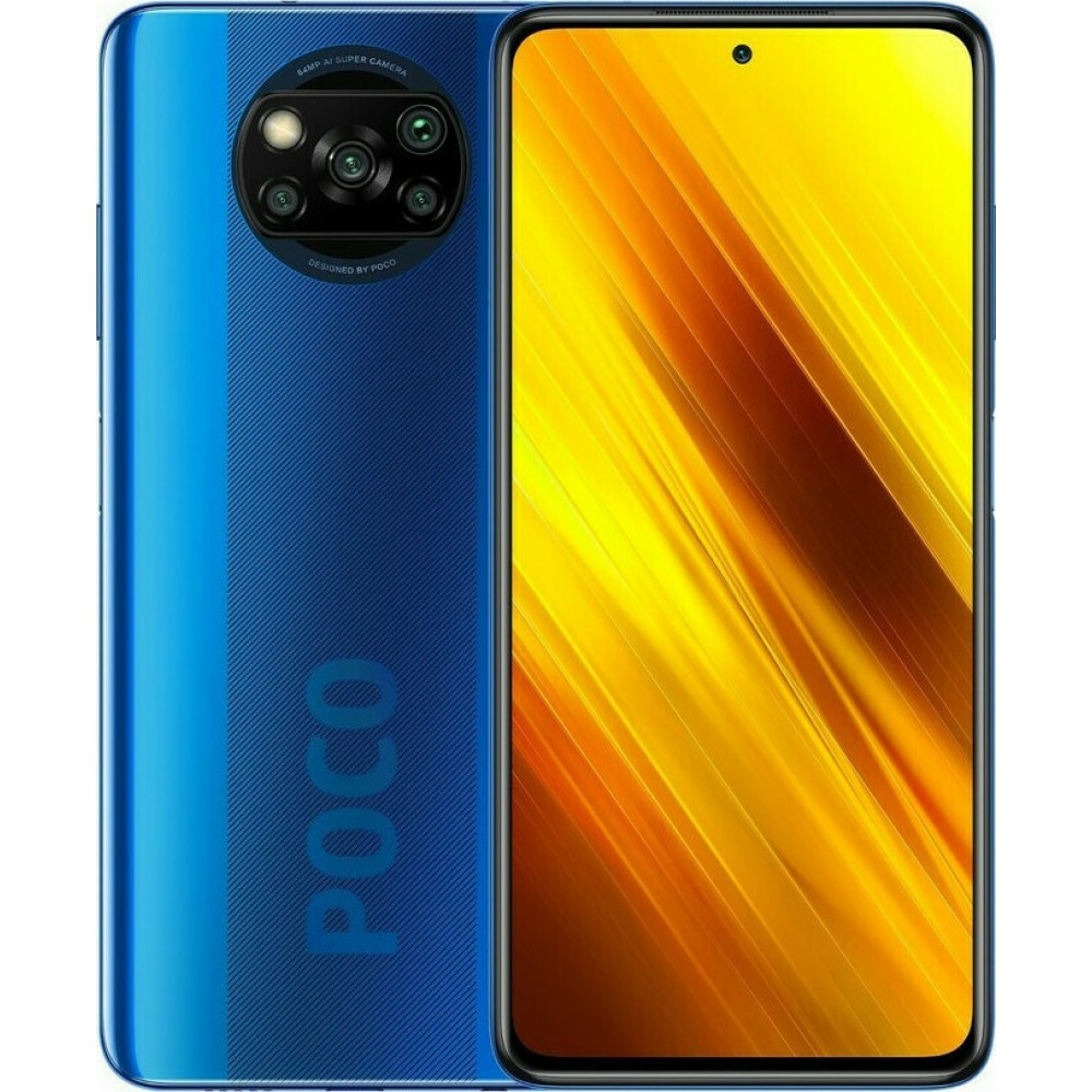 Xiaomi Poco X3 NFC 6gb/64gb Cobalt Blue(Global Version) Τηλεφωνία