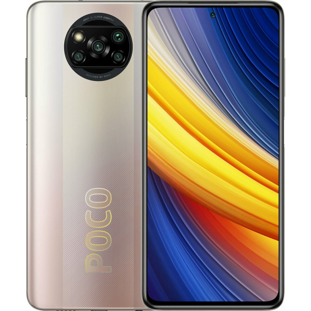 Xiaomi Poco X3 Pro Dual 8gb/256gb Metal Bronze EU Τηλεφωνία
