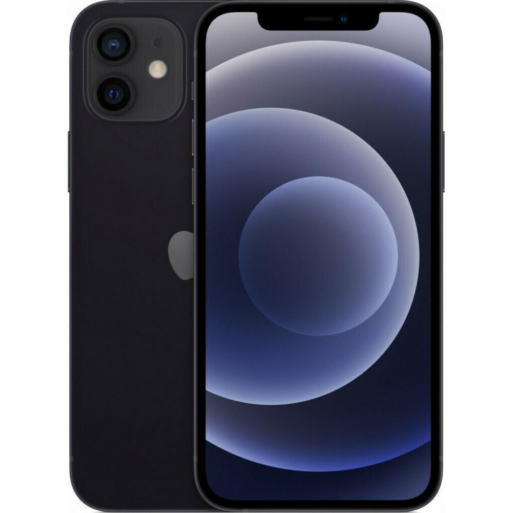 Apple iPhone 12 (128GB) Black Τηλεφωνία