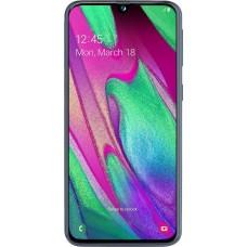 Samsung Galaxy A40 Dual 4gb/64gb Black EU+(ΔΩΡΟ ΘΗΚΗ ΣΙΛΙΚΟΝΗΣ ΔΙΑΦΑΝΗ)
