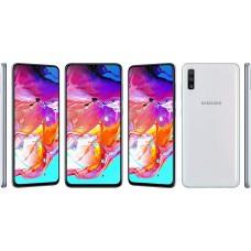 Samsung Galaxy A70 Dual 6gb/128gb White EU+(ΔΩΡΟ ΘΗΚΗ ΣΙΛΙΚΟΝΗΣ)