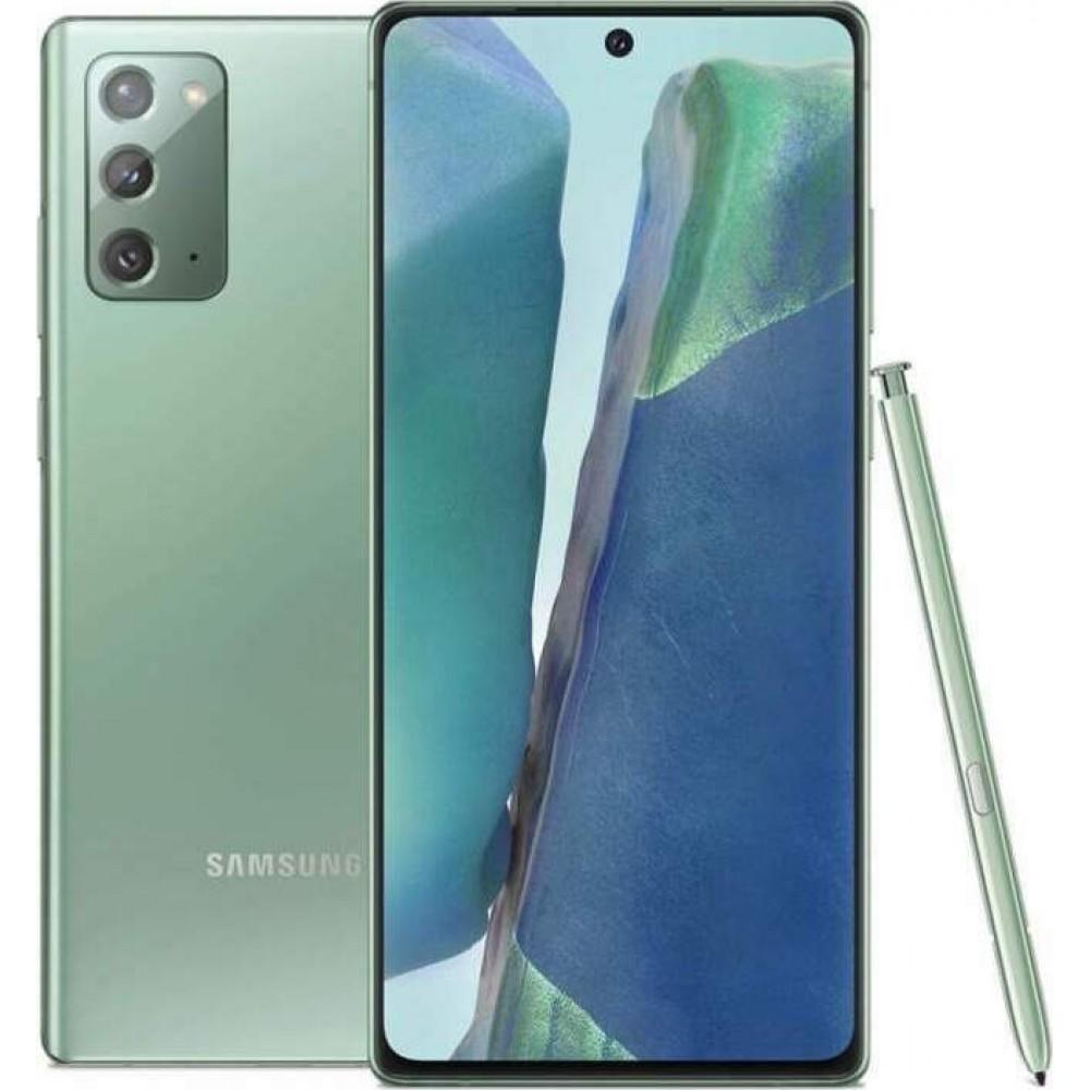 Samsung Galaxy Note 20 Dual 8gb/256gb Mystic Green EU Τηλεφωνία