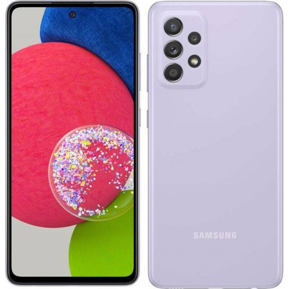 Samsung Galaxy A52s (6GB/128GB) 5G Dual Sim Awesome Violet EU Τηλεφωνία