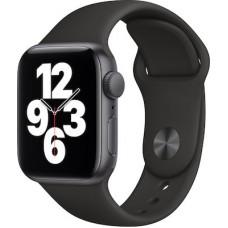 Apple Watch SE GPS 40mm Space Gray Alu Black Sport Band