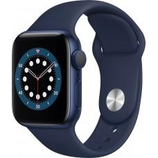Apple Watch Series 6 44mm (GPS) Aluminium Case Blue Sport Band Navy Blue EU