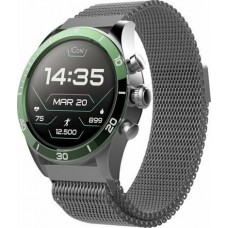 Smartwatch Forever AMOLED ICON AW-100 green