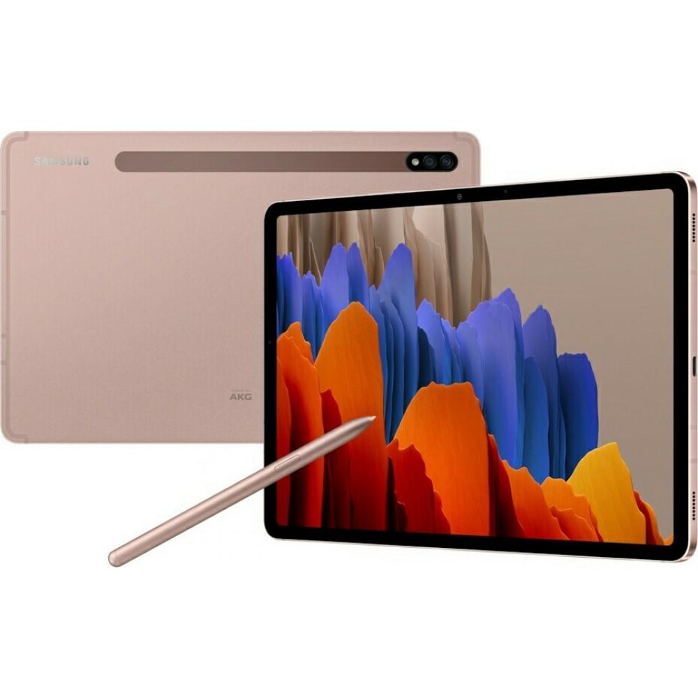 Samsung Galaxy Tab S7 T870N 6gb/128gb WiFi Mystic Bronze EU Τηλεφωνία