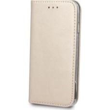 OEM Book Smart Magnetic Θήκη για Xiaomi Redmi Note 5 - Χρυσό
