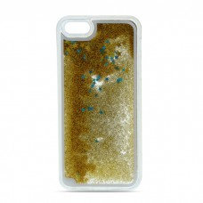 Liquid Glitter TPU Case for iPhone 6/6s gold Τηλεφωνία