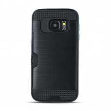 Defender Card case for Samsung A7 2018 black