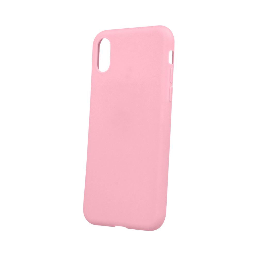 Matt TPU case for Samsung A7 2018 pink Τηλεφωνία