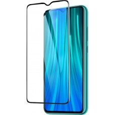 Full Face Tempered Glass Black (Redmi Note 8)